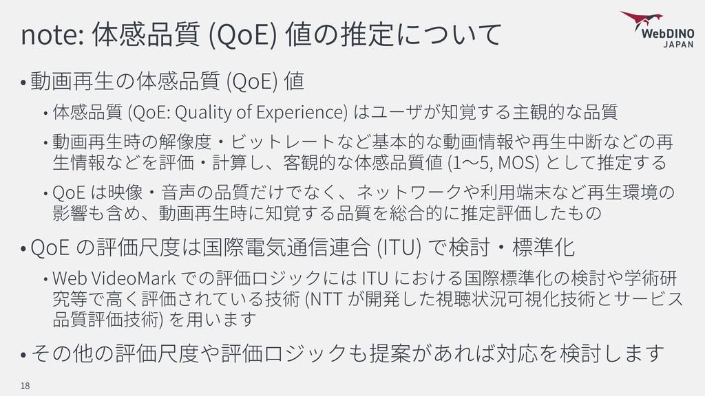 note: (QoE) (QoE) (QoE: Quality of Experience) ...