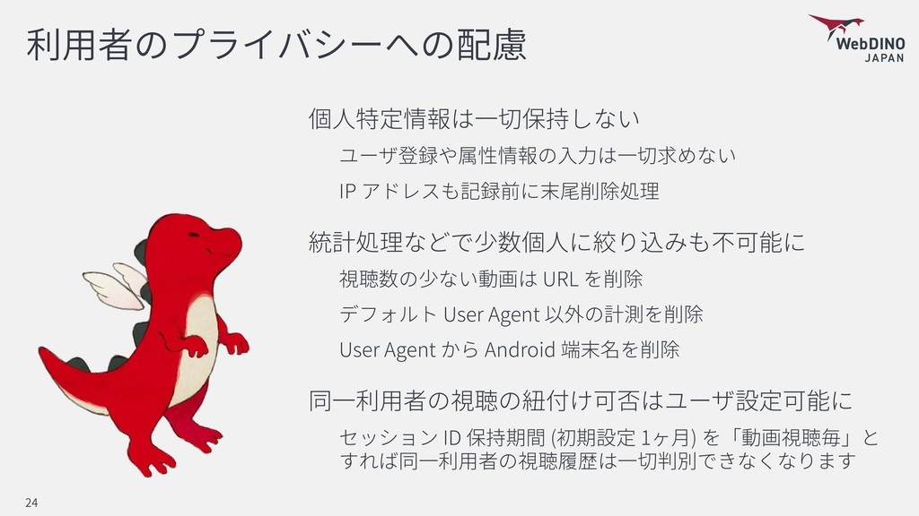 IP URL User Agent User Agent Android ID ( 1 ) 24