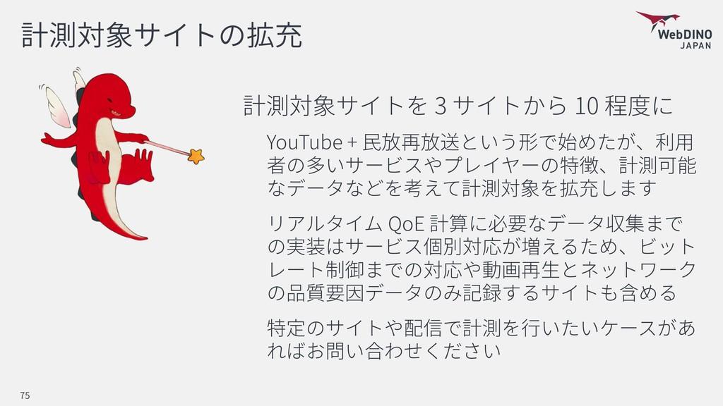 3 10 YouTube + QoE 75