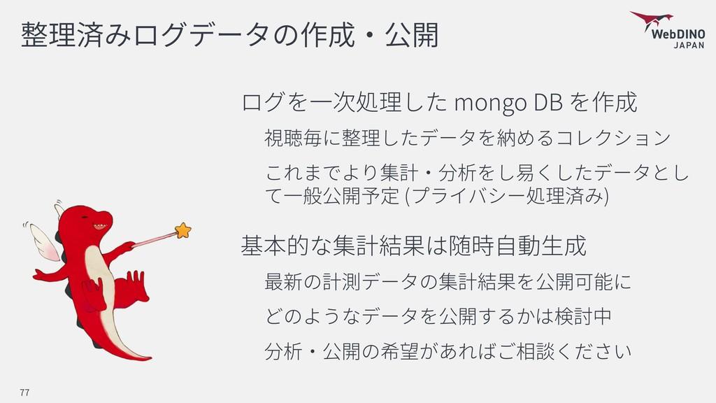 mongo DB ( ) 77