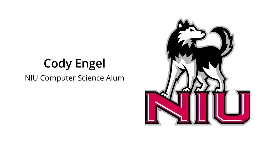 Cody Engel NIU Computer Science Alum