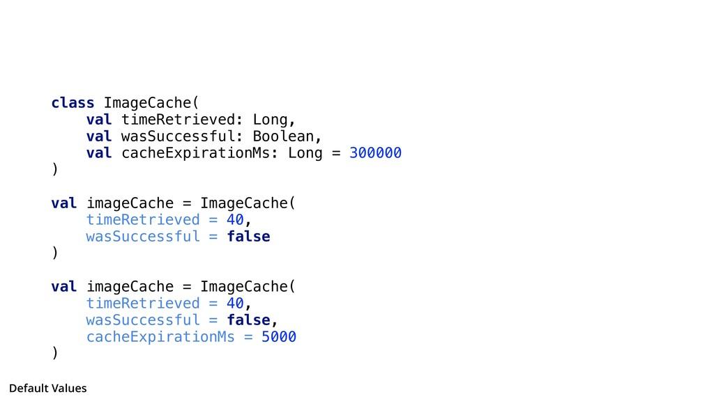 class ImageCache( val timeRetrieved: Long, val ...