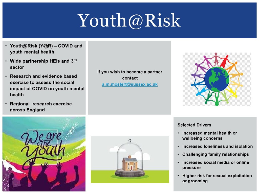 Youth@Risk • Youth@Risk (Y@R) – COVID and youth...