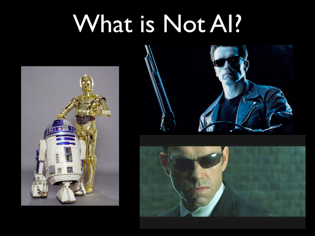 What is Not AI?