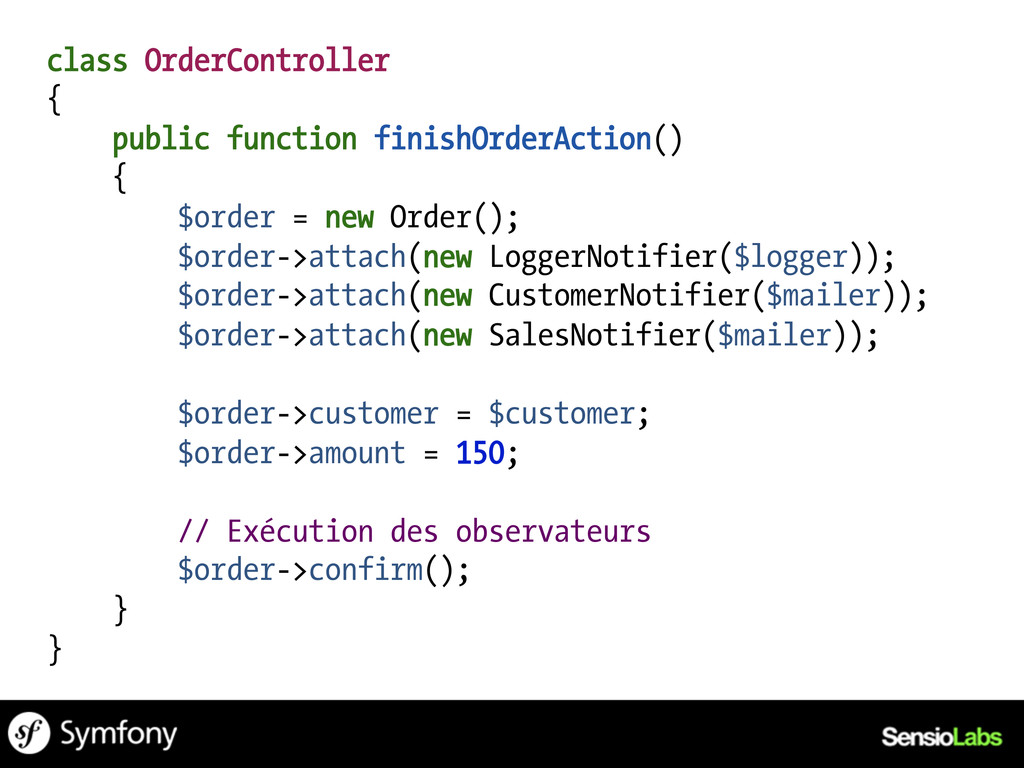 class OrderController { public function finishO...