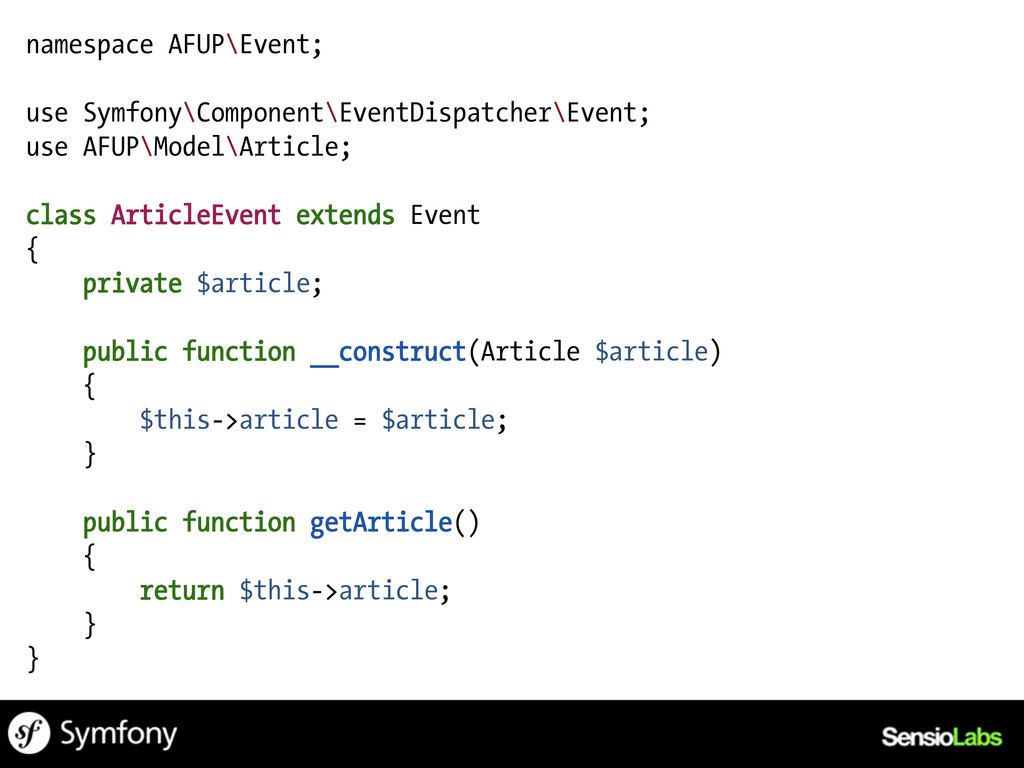 namespace AFUP\Event; use Symfony\Component\Eve...