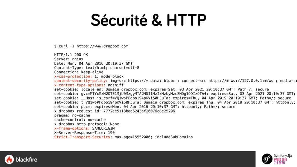 $ curl -I https://www.dropbox.com HTTP/1.1 200...