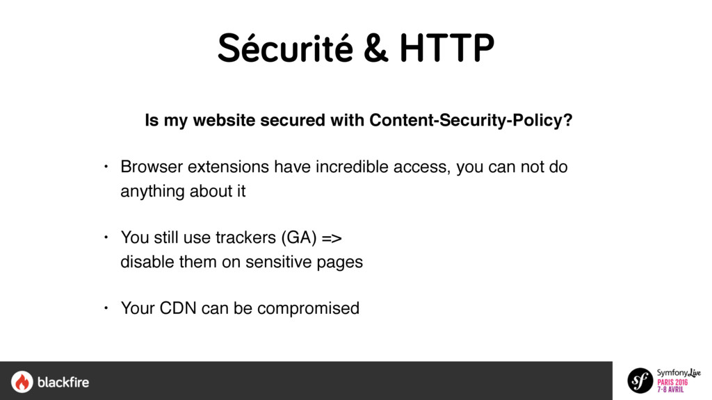 Sécurité & HTTP Is my website secured with Cont...