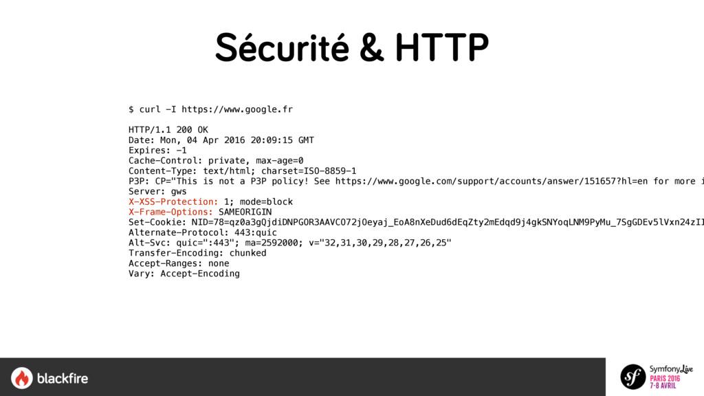 $ curl -I https://www.google.fr HTTP/1.1 200 O...