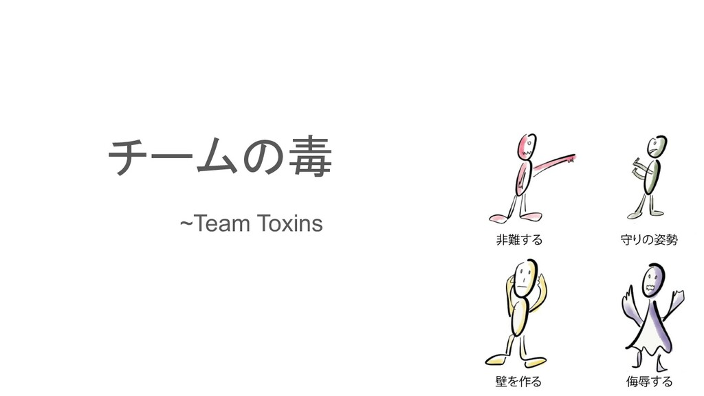 チームの毒    ~Team Toxins
