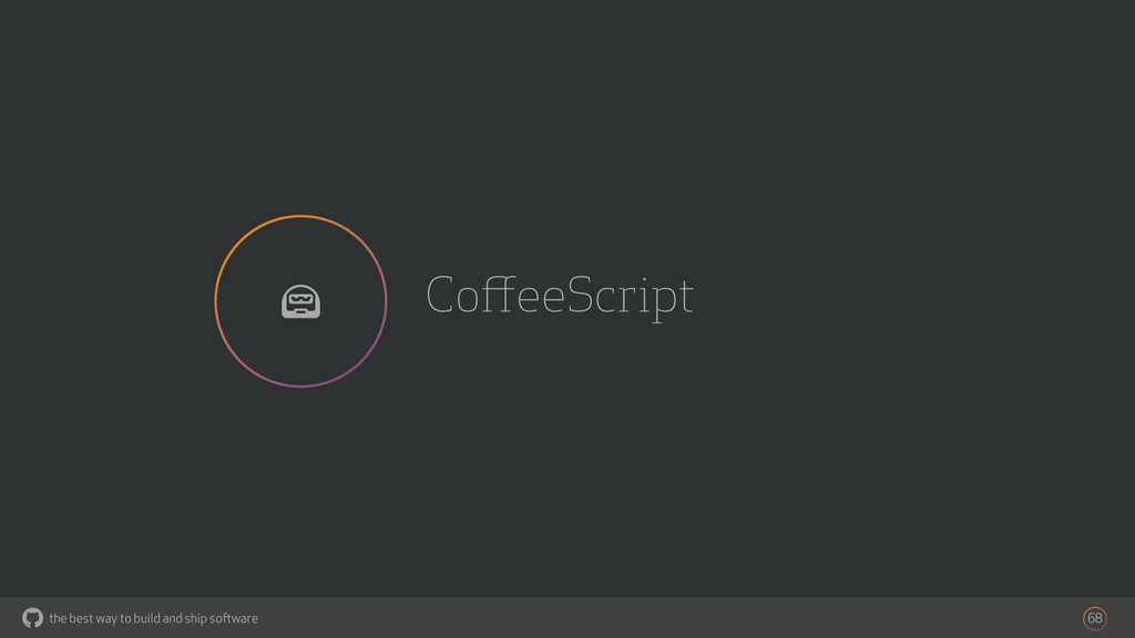 the best way to build and ship software CoffeeSc...