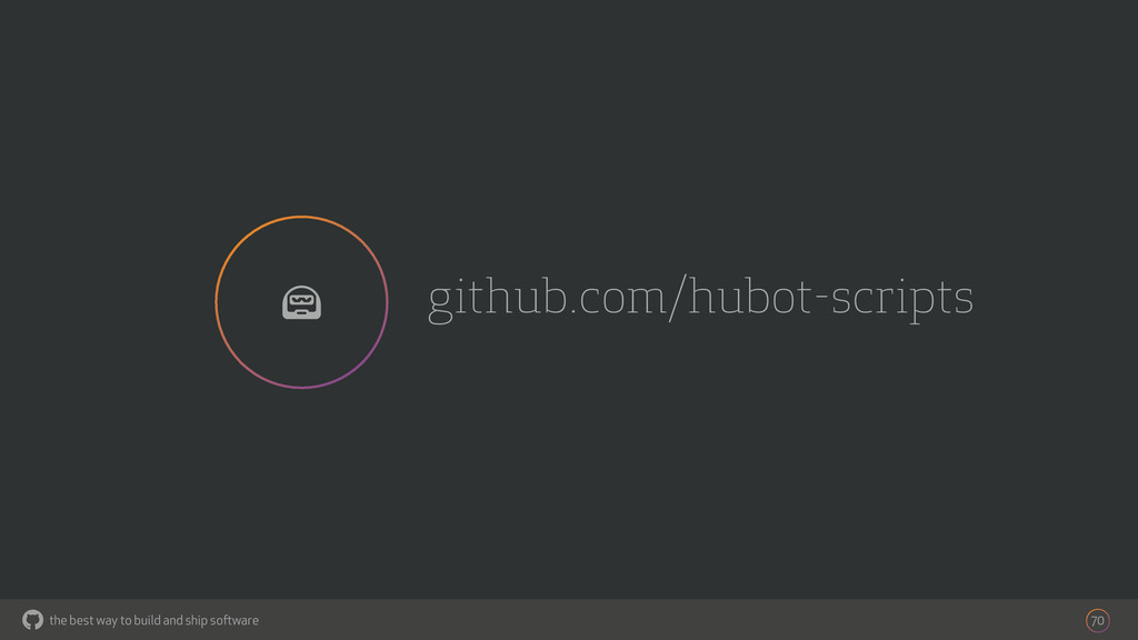 the best way to build and ship software github....