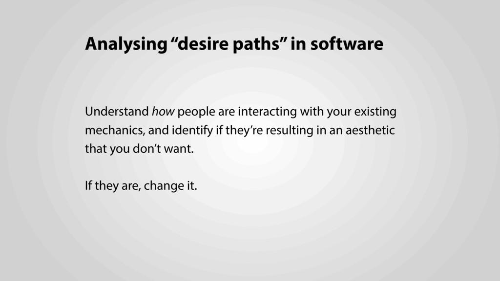 """Analysing """"desire paths"""" in software Understand..."""