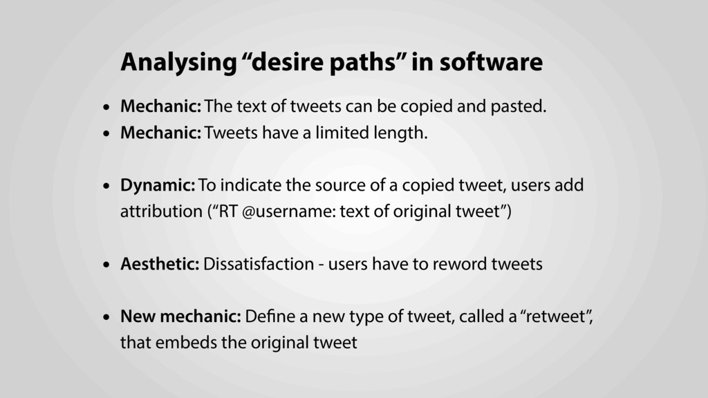 "Analysing ""desire paths"" in software • Mechanic..."