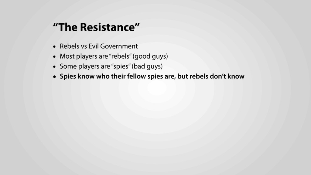 """The Resistance"" • Rebels vs Evil Government • ..."