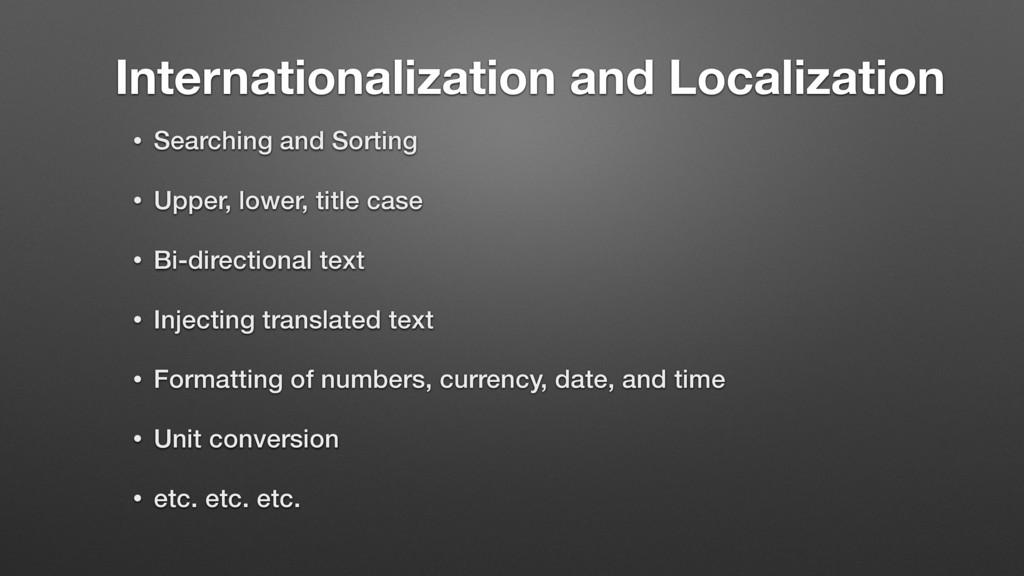 Internationalization and Localization • Searchi...