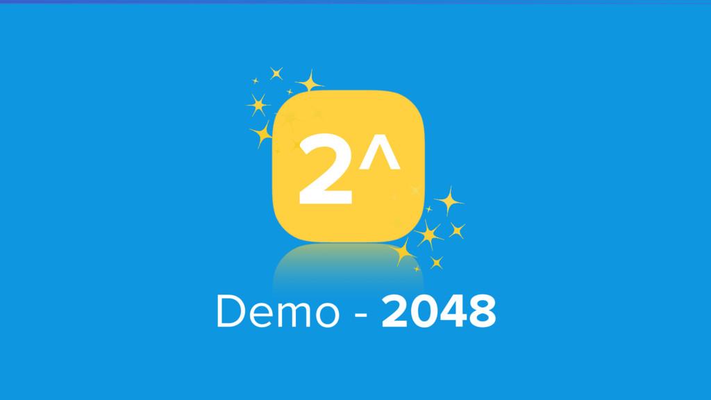 Demo - 2048 2^