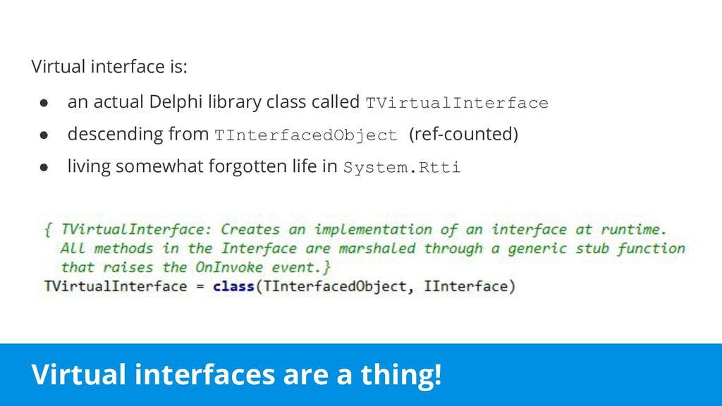 Virtual interfaces are a thing! Virtual interfa...