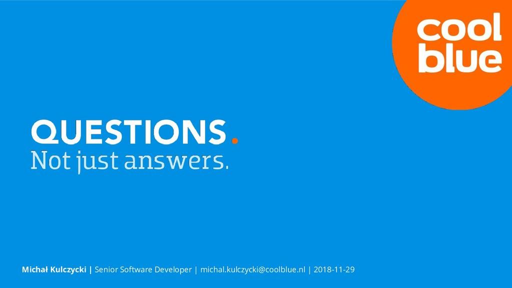 Michał Kulczycki | Senior Software Developer | ...
