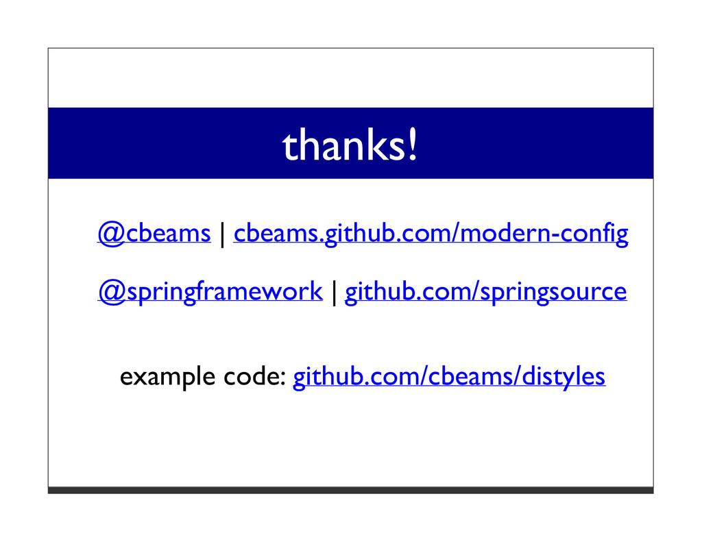 thanks! @cbeams   cbeams.github.com/modern-conf...