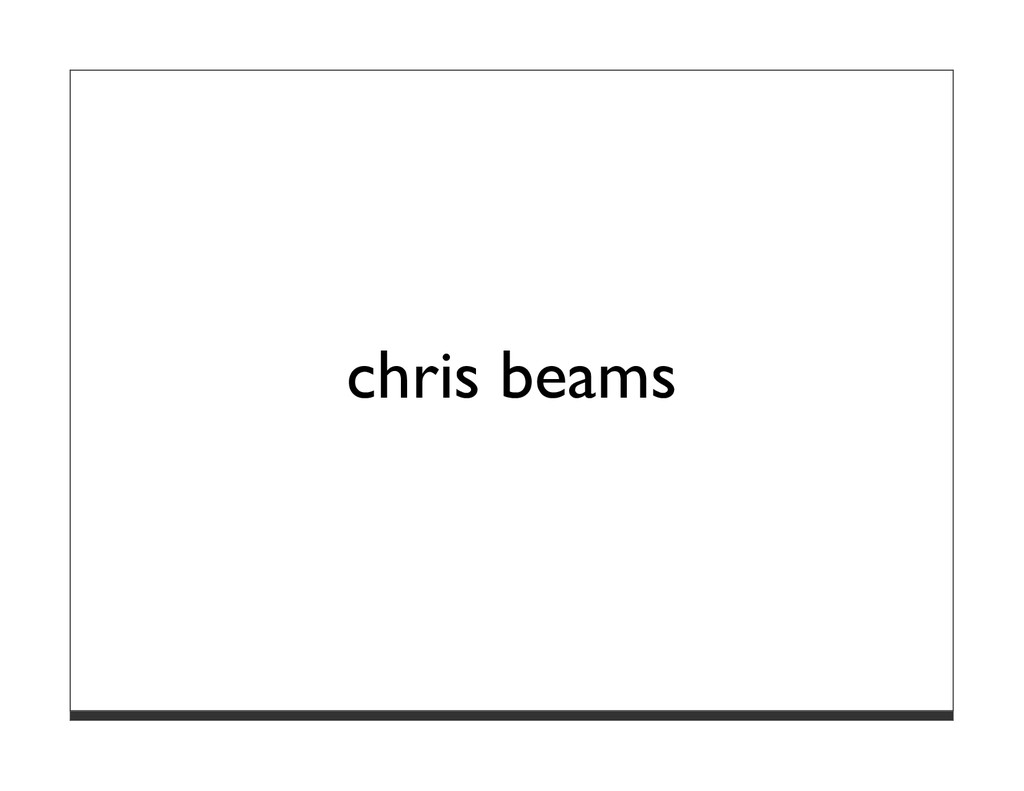 chris beams