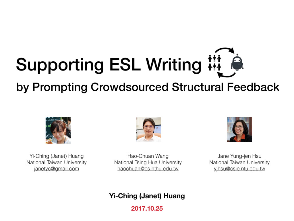 Supporting ESL Writing by Prompting Crowdsource...