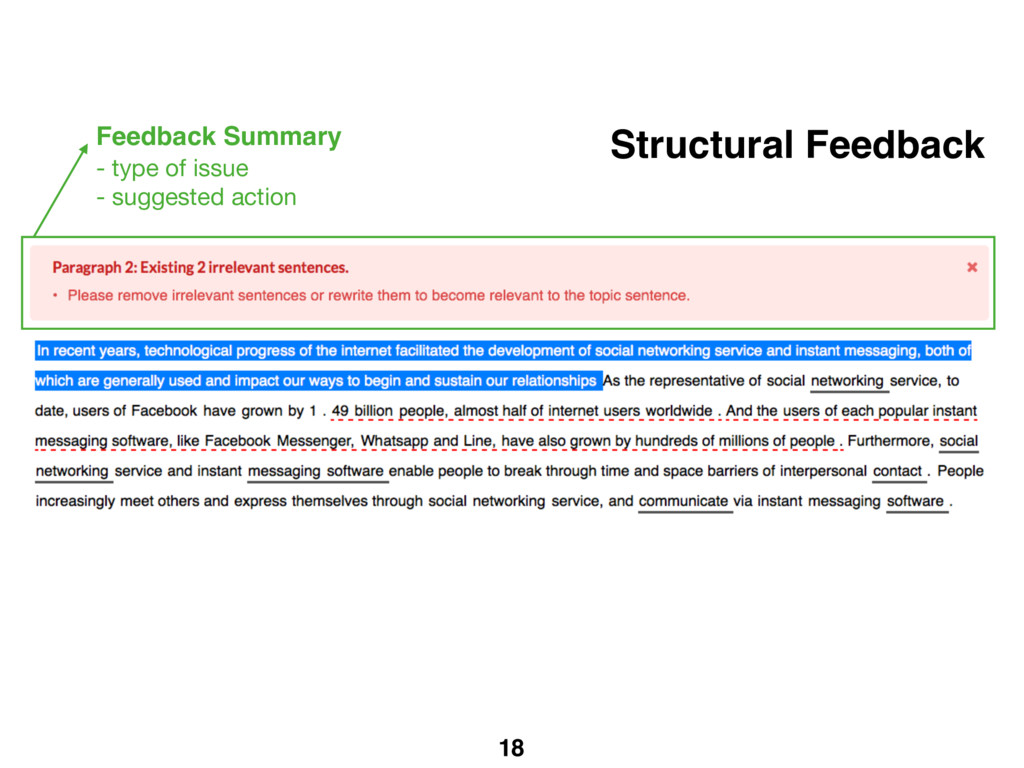 18 Structural Feedback Feedback Summary - type ...