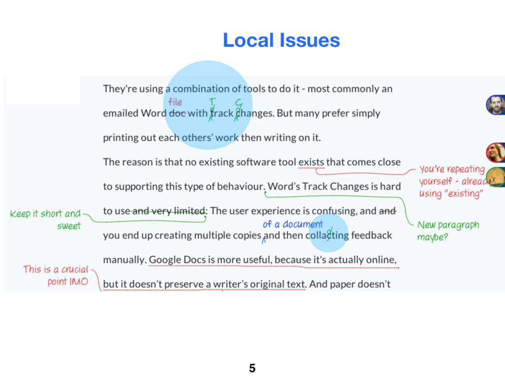 5 Local Issues