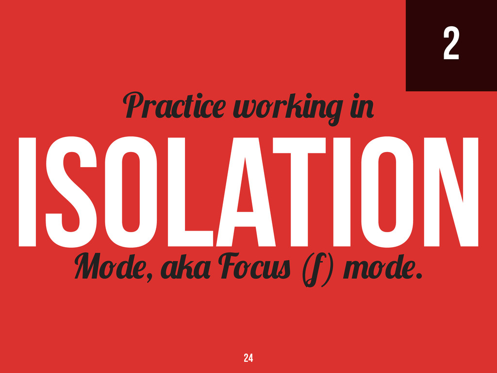 2 M , F (f) . Pr w r 24 isolation