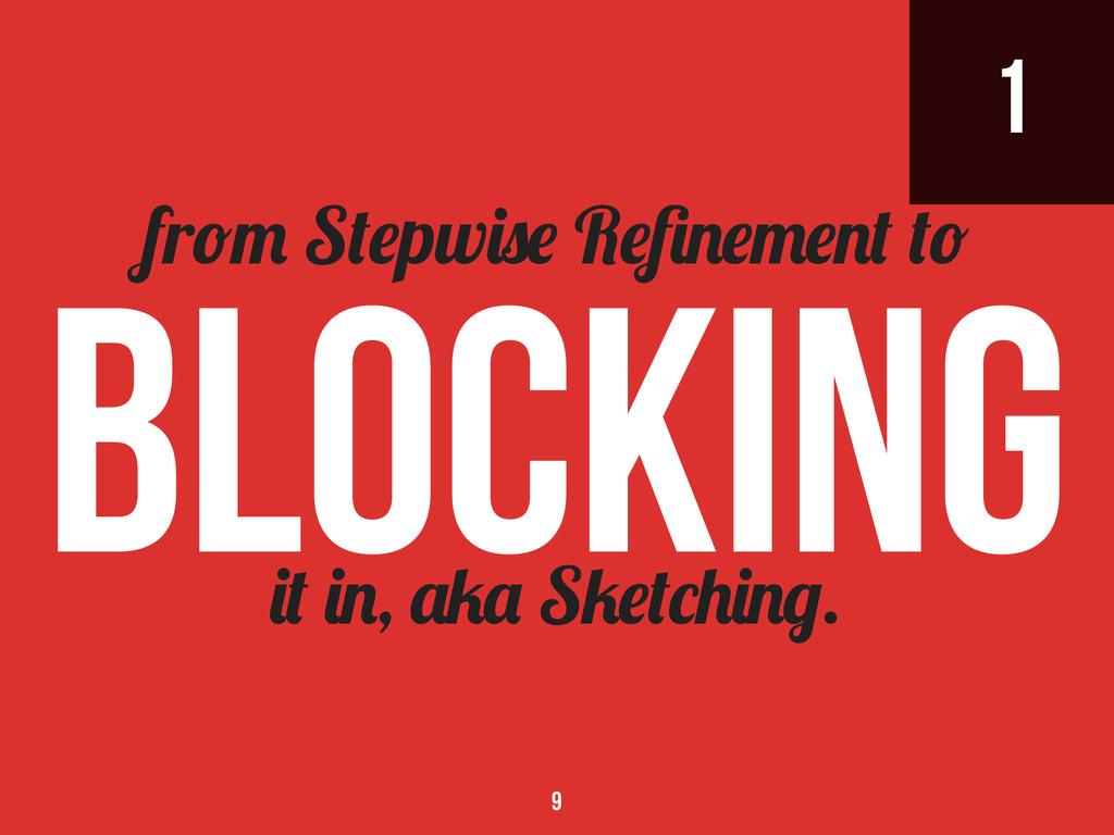 1 , S . fr S pw R Blocking 9
