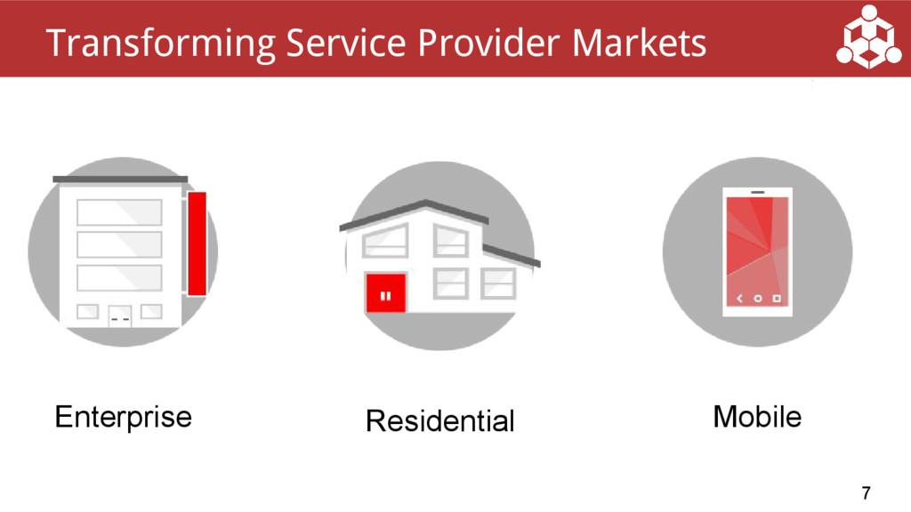 7 Transforming Service Provider Markets Mobile ...