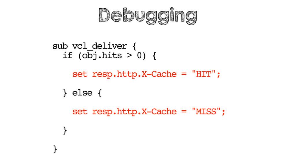 sub vcl_deliver { if (obj.hits > 0) { set resp....