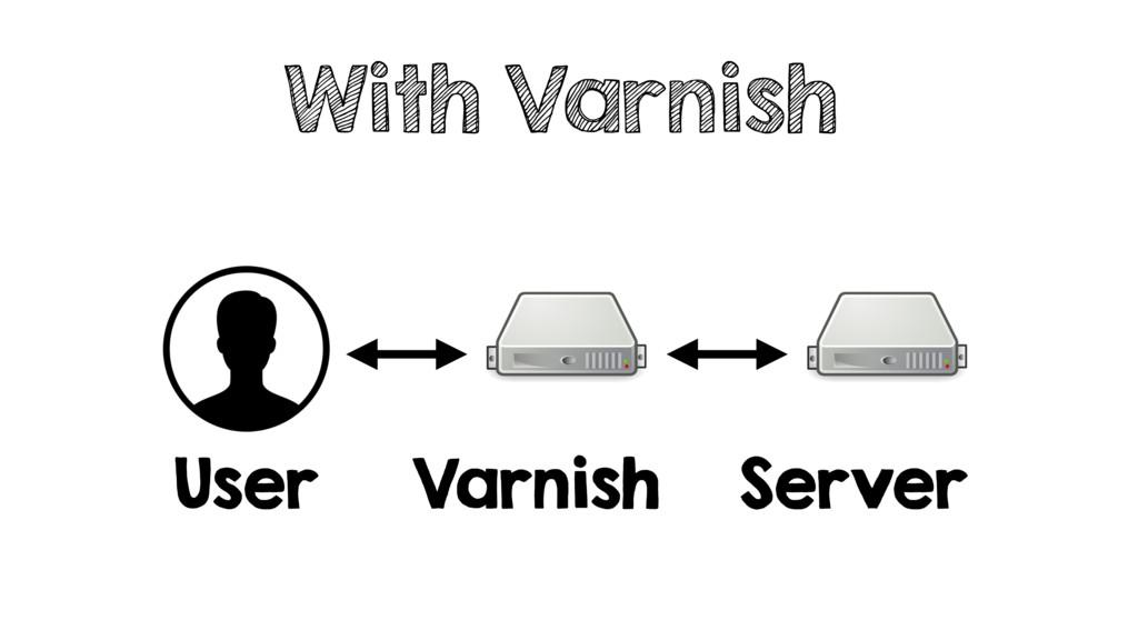 With Varnish User Varnish Server