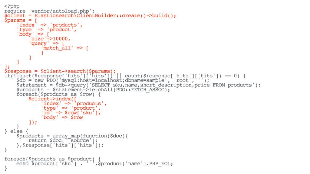 <?php require 'vendor/autoload.php'; $client = ...