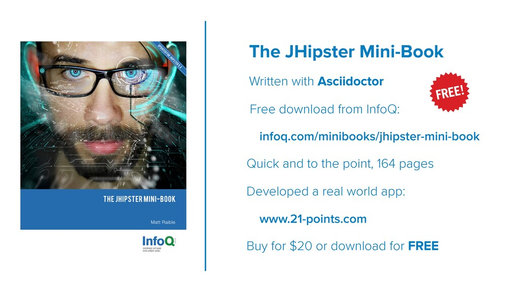 The JHipster Mini-Book Written with Asciidoctor...