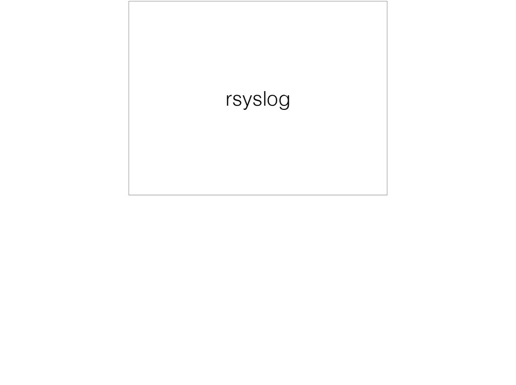 rsyslog