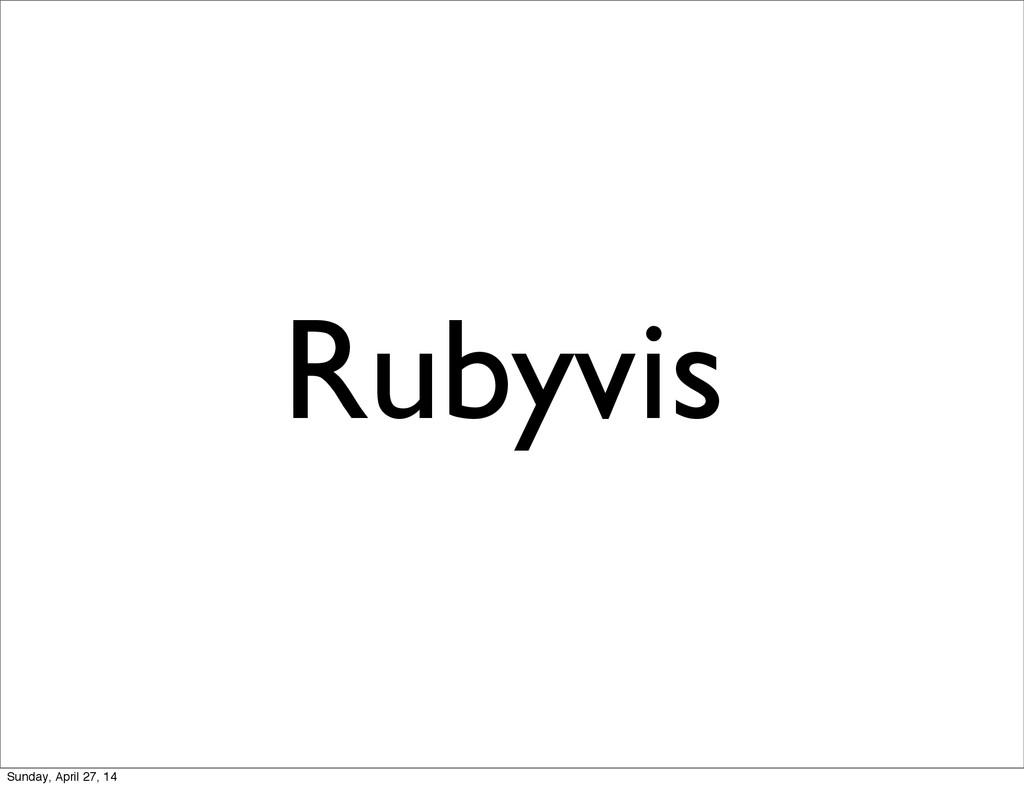 Rubyvis Sunday, April 27, 14