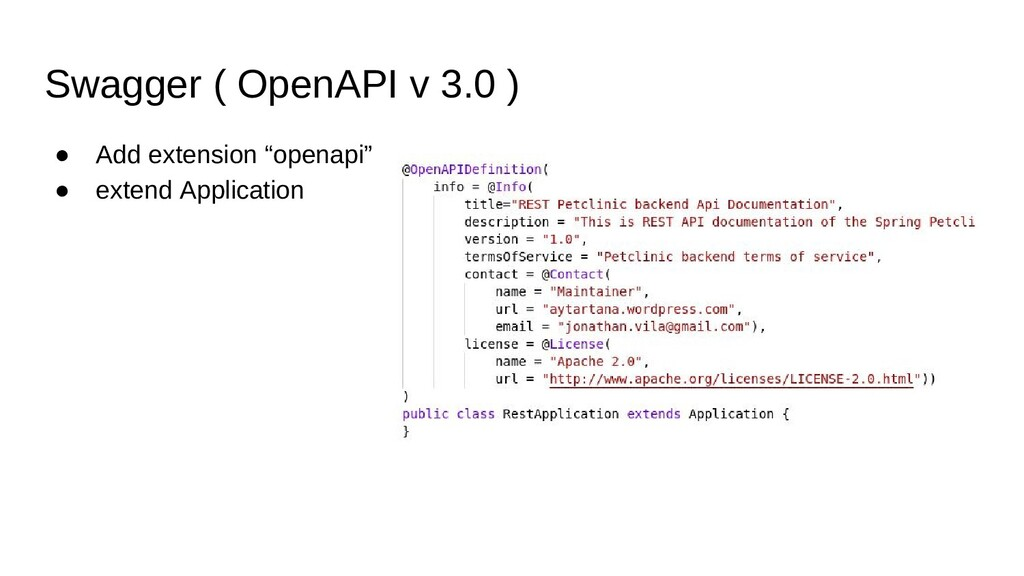 """Swagger ( OpenAPI v 3.0 ) ● Add extension """"open..."""