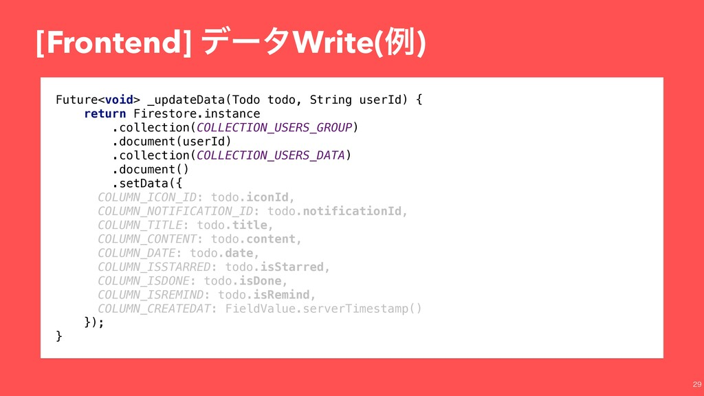 [Frontend] σʔλWrite(ྫ)  Future<void> _updateD...