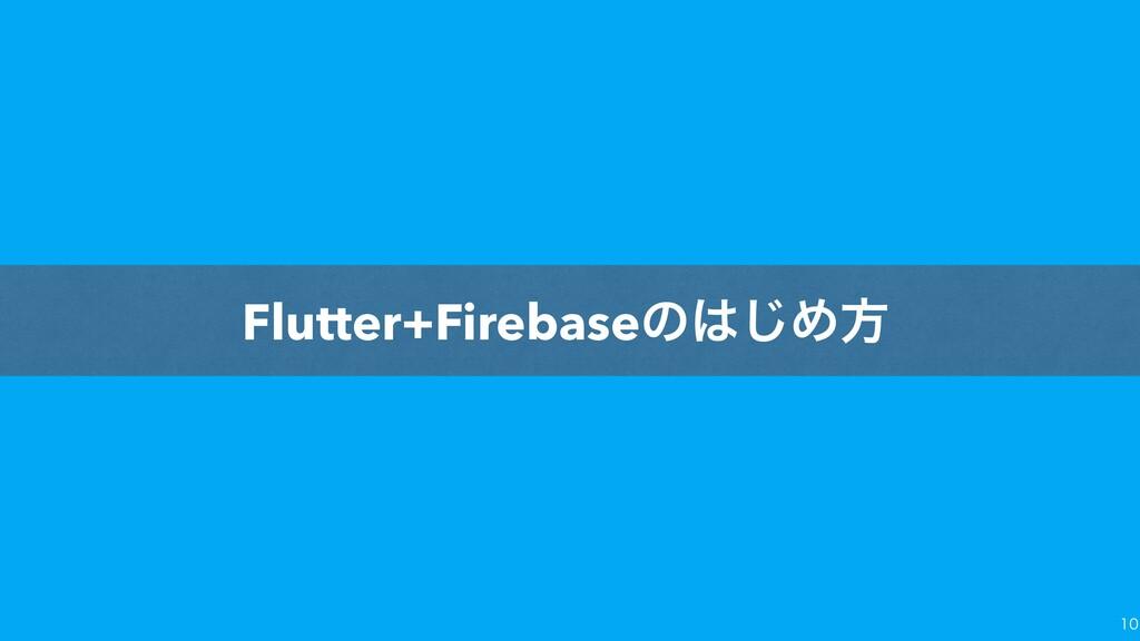 Flutter+Firebaseͷ͡Ίํ