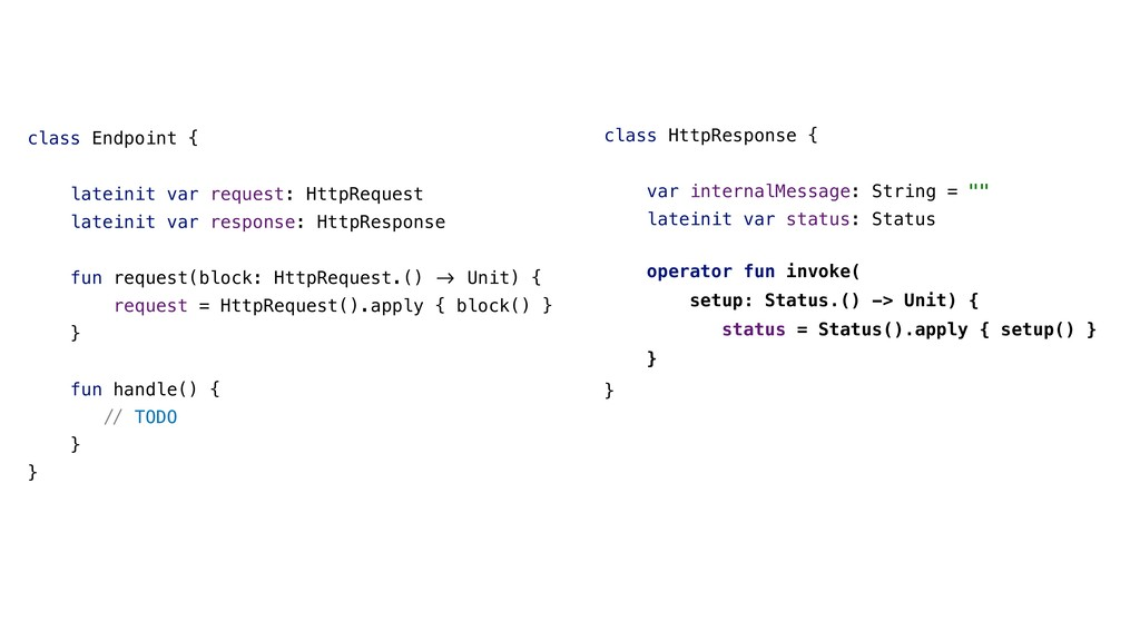class Endpoint { lateinit var request: HttpRequ...
