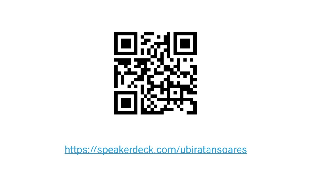 https://speakerdeck.com/ubiratansoares