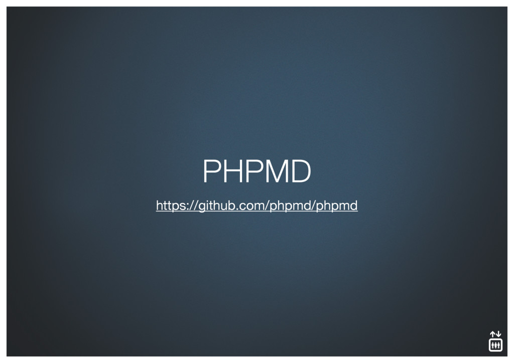 https://github.com/phpmd/phpmd PHPMD