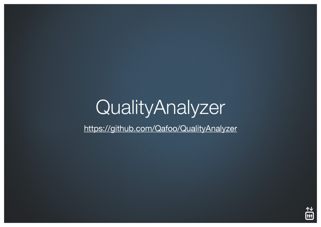 https://github.com/Qafoo/QualityAnalyzer Qualit...