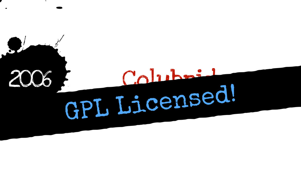 h 2006 Colubrid GPL Licensed!