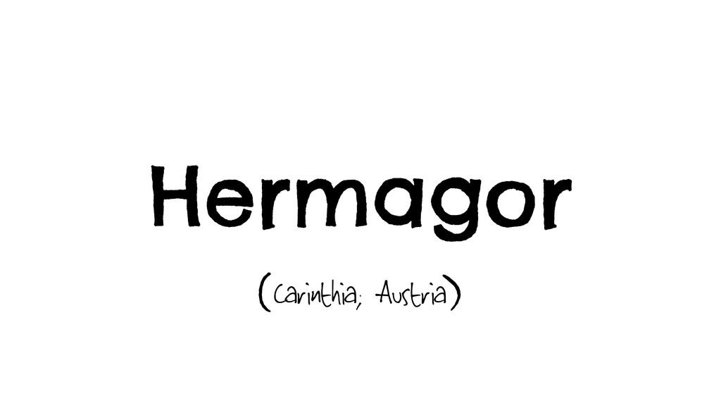 Hermagor Carinthia; Austria ( )