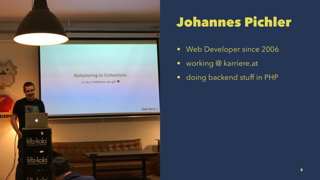Johannes Pichler • Web Developer since 2006 • w...