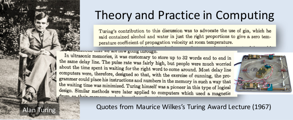 Theory and Practice in Computing Quotes from Ma...