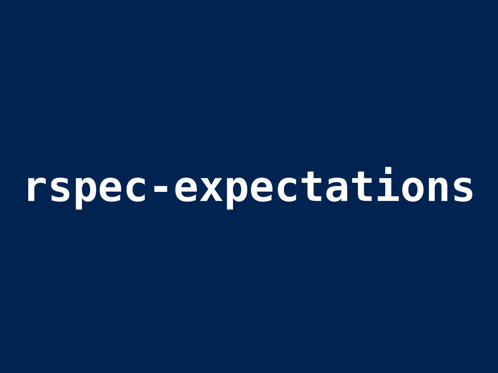 rspec-expectations
