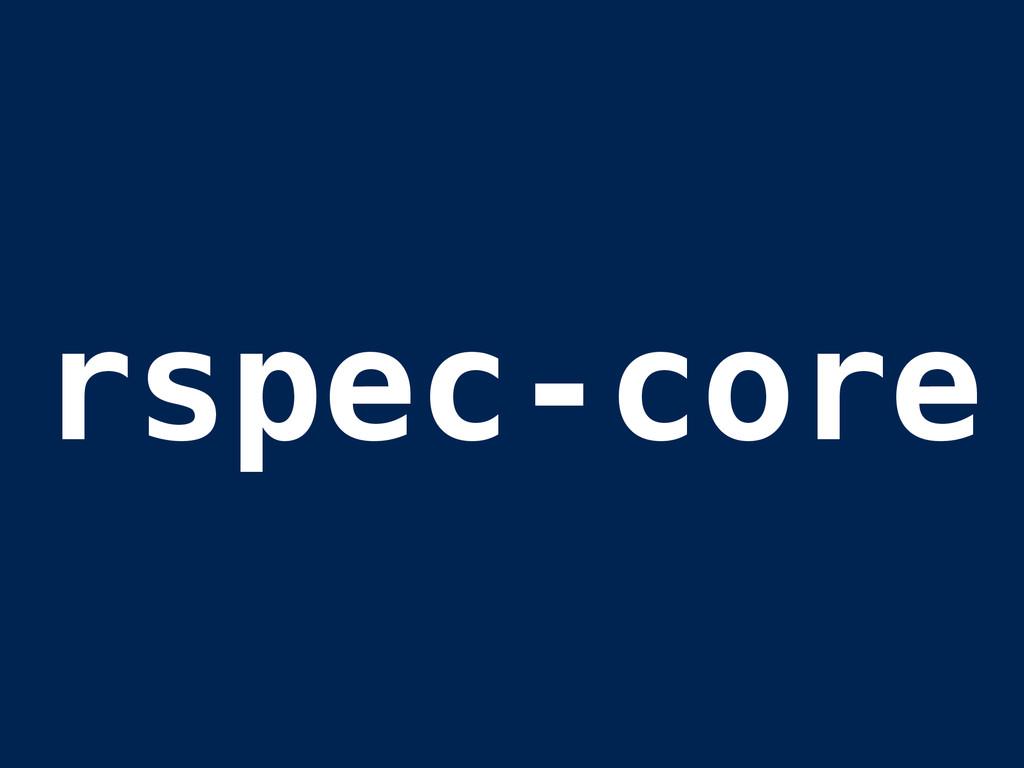 rspec-core